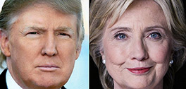 Clinton or Trump