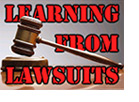 Learning from Lawsuits
